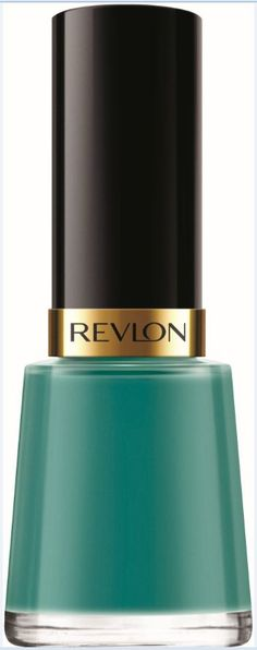 Revlon Nail Enamel in Trendy. Current favorite nail color.//This is my current color, it's more teal in person.