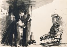 Pablo Picasso 1881 - 1973 LE MENDIANT