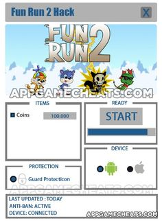 Fun Run 2 Tips & Cheats for Coins - New Hack Available  #FunRun2 #Popular #Racing #Strategy http://appgamecheats.com/fun-run-2-tips-cheats-coins-new-hack-available/