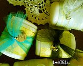 One Dozen Handmade Bar Soap Tea Party Favor Soap Bridal or Baby Shower Soap