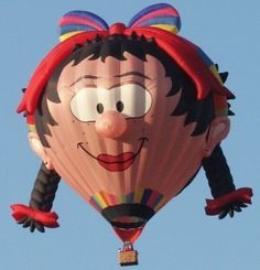Welcome Pilot Paul Burrows of Bristol, Banes Great Britain. Paul flies the balloon, Oons Wiefke (Wife). #BalloonFiesta