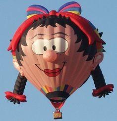 Welcome Pilot Paul Burrows of Bristol, Banes Great Britain. Paul flies the balloon, Oons Wiefke (Wife). #BalloonFiesta