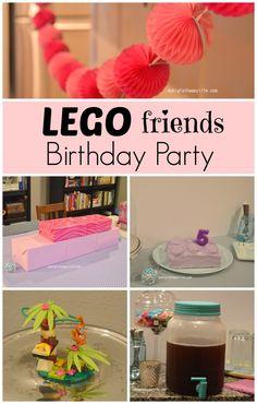 Lego Friends Birthda