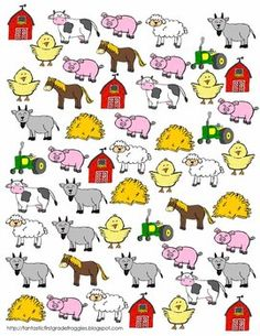 Find, Tally and Graph- Farm.  Could just get some stickers and make my own... theme it to our current Science/ SOSE unit...