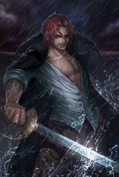 Akagami no Shanks- Fanart