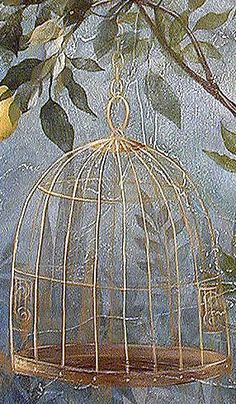 Bird Cage Stencil  See more: http://www.cuttingedgestencils.com/wall-stencils-mural-stencils.html