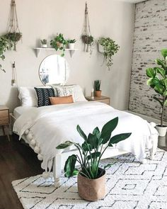 30 Awesome Indoor Plant Bedroom Pictures