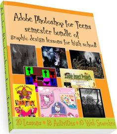 A semester of Photoshop lesson plans for high school students - graphic design made easy!Teach Photoshop CS4/CS5/CS6 with these specially designed and tested lessons by 2LearnComputing.com.We have bundled a set of lessons in this Photoshop download package that will allow your students to learn basic and intermediate photo editing skills with Photoshop to transform pictures into stunning works of art.