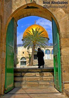 Jerusalem-Est à l'entrée de l'esplanade de la mosquée El-Aqsa في منتهى الروعة