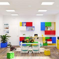 Дизайн проект ДОУ в Гатчине от мебельной компании Автограф. Оформление группы. Система хранения в стиле конструктора ЛЕГО Lego, Kids Rugs, Home Decor, Kid Friendly Rugs, Interior Design, Legos, Home Interior Design, Home Decoration, Decoration Home