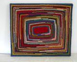 Amish crocheted rug at 1stdibs