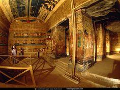 sacred egyptian tomb