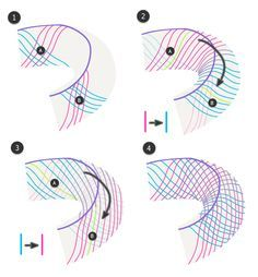 Drawing snakes and their patterns, by Monika Zegrobelna on tuts+