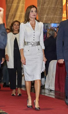 Queen Letizia of Spain attends the 29th 'Rey Jaime I' awards at Lonja de los Mercaderes on October 30, 2017 in Valencia, Spain.