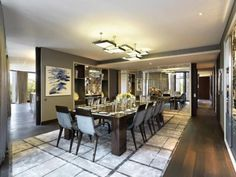 The interior is by Candy & Candy, an exclusive design team in London.