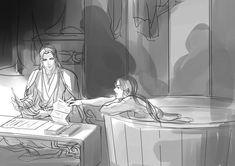 Anime Couples Drawings, Couple Drawings, Great Love Stories, The Grandmaster, I Love Anime, Light Novel, Fujoshi, Chinese Art, Asian Art