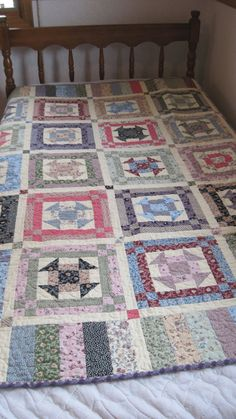 Old Fashioned Churn Dash Throw Quilt by CoziesQuiltsandMore Churn Dash Quilt, Striped Fabrics, Different Fabrics, Home Decor Styles, Machine Quilting, Quilt Blocks, Cotton Fabric, Quilts, Blanket