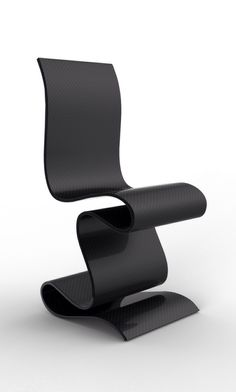 SCULPTURE Carbon Chair by Ventury Lab Limited to 6 + 2 Artist Proofs by Invitation Only