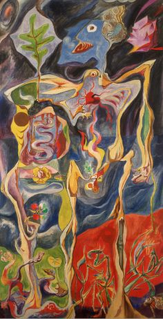 """""""Metamorphoses"""" (1939) by Andre Masson"""