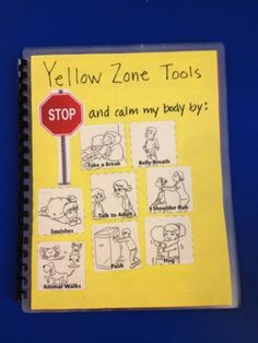 Zones of Regulation Helping My Struggling Kids - yellow zone