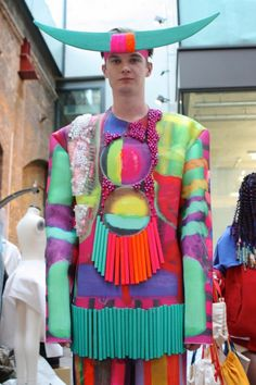 Central Saint Martins College of Art and Design / CSM Graduate Fashion Show 2013