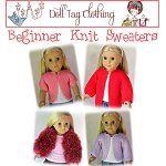 Knitting Pattern - Beginner Knit Sweater / Jersey