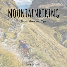 Find tours in Flims and beyond, useful packing lists and tips and tricks for your alpine biking trip. Hop on the saddle and get your next adventure started. Trip Hop, Packing Lists, Mountain Biking, Tours, Bike, Baseball Cards, Explore, Adventure, Flims