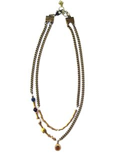 Artisan Jewelry That Fuses Old-World Elegance With Modern-Day Edge Beaded Necklace, Pendant Necklace, Spring Summer 2015, Artisan Jewelry, Old World, Beaded Collar, Beaded Necklaces, Pearl Necklace, Drop Necklace