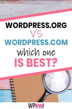 When you are starting a blog it is difficult to decide whether to choose WordPress.org or WordPress.com, especially if you want to make money with your blog. In this post, I will explain both options and the pros and cons of each of them. By the end of this post, you should have a clear understanding of what they are, and which is best for you and your blog. #bloggingtips #startablog #wordpresshosting #bloghosting #wordpress #wordpresstips