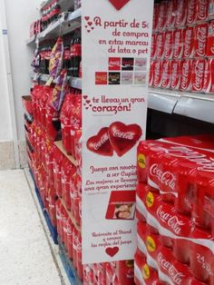 Campaña #cocacola San Valentin 2015