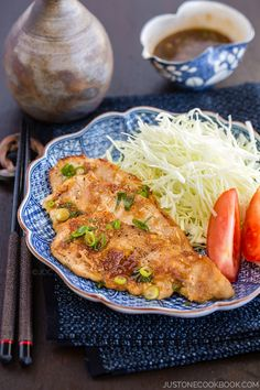 Ginger Pork (Shogayaki)   Easy Japanese Recipes at JustOneCookbook.com