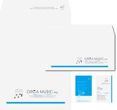 オルカミュージック音楽事務所 ビジュアルデザイン ロゴマークデザイン