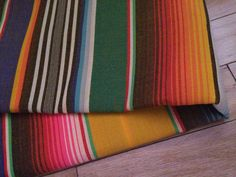 """Serape Mexican Fabric by vivalapress on Etsy, $22.00 (74x40"""")"""