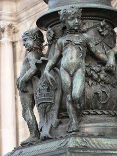 Beautiful Statuary in Paris