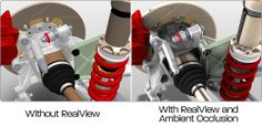 Professional Graphics unleashes the power of RealView and brings your models to life.  2012 now offers advanced shading in real.