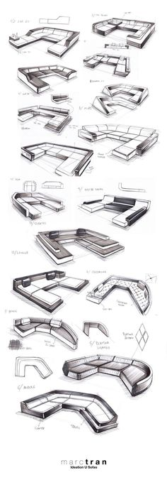 제품 디자인, 소파 디자인 ,Production Design,Sofa Design, Design Sketch