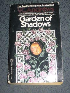 V. C. Andrews Garden of Shadows 1987 Paperback Teen Horror