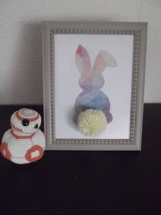 cadre Easter Ideas, Baby Room, Bee, Frame, Home Decor, Diy Room Decor, Rabbits, Projects To Try, Picture Frame