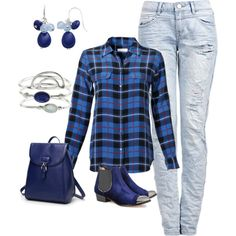 Untitled #864 by sdee02 on Polyvore featuring Equipment, Lucy Choi London, Accessorize and Chaps
