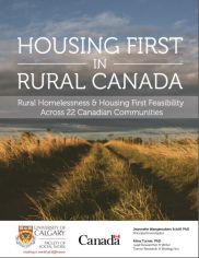 #HousingFirst in #Rural #Canada: Rural Homelessness & Housing First Feasibility Across 22 Canadian Communities