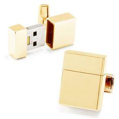 Gold Plated 4GB USB Flash Drive Cufflinks Cuff Links by Ravi Ratan, http://www.amazon.com/dp/B003U4ESGU/ref=cm_sw_r_pi_dp_MBhArb0VA3250