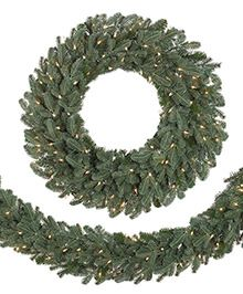 Beautiful garland to decorate the fireplace, furniture, and stairs... #TreeClassicsChristmas