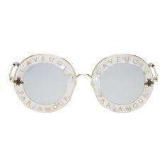 Gucci round sunglasses ...