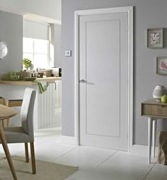 Step into a world of choice and style and browse our extensive range of quality interior doors for both the home and office. Internal Doors Modern, Modern Door, Solid Doors, White Doors, Interior Door Styles, Interior Design, Modern Interior Doors, Paint Interior Doors, Glass Barn Doors