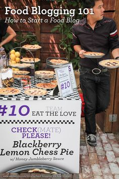 Looking for an award winning pie recipe? Check out this Blackberry Lemon Chess Pie recipe. place & people's choice at the SF Food Wars! Potato Chip Chicken, Potato Chips, Lemon Chess Pie, Lemon Pie Recipe, Food Photography Tips, Blogger Tips, Food Industry, Food Presentation, Yummy Treats