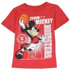 MICKEY MOUSE ~ Red T-Shirt