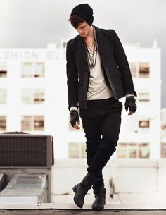 men fashion ... something about a man that wears a beenie ... gets me everytime! <3
