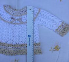 Baby Knitting, Crochet Baby, Knit Crochet, Angie Martinez, Maria Jose, Baby Sweaters, Dory, Baby Dress, Crochet Patterns