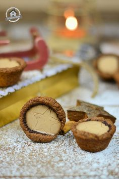 Aus der Knusper-Bäckerei: Lebkuchen Cookie Bites mit Lebkuchen Panna Cotta | Das Knusperstübchen
