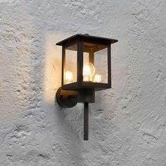 BuyJohn Lewis Stowe Coach Lantern Outdoor Wall Light Online at johnlewis.com